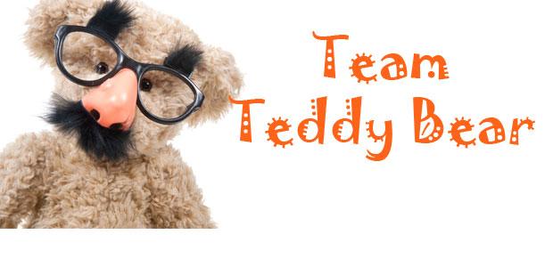 Show you care: Build a Team Teddy Bear